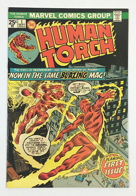 Marvel Bronze Age Human Torch #1 – 8.5 VF+ Great looking High-grade book!!!