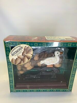 Sherwood Old Fashioned Cast Iron Nutcracker  2003 No. 410024 Duck