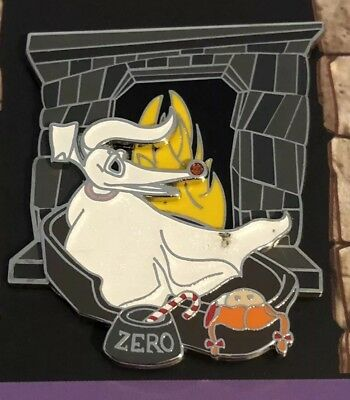 Disney Zero Nightmare Before Christmas 25 Years of Fright Trading Pin LE/4000