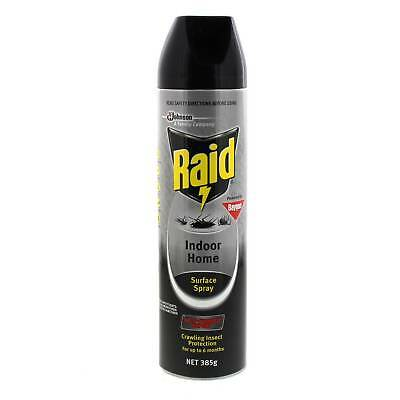 Raid Surface Spray 385g Kills On Contact Fast Action Strong 6 Month Protection