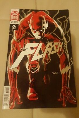 The Flash #56 foil cover