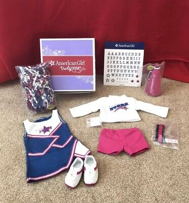 American Girl Doll Truly Me 2 in 1 Cheer Gear Outfit - New in Box FAST SHIPPING