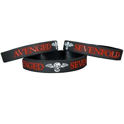 Avenged Sevenfold Silicon Rubber Wristband