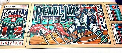 Pearl Jam 2018 Seattle 'Home Show' Brad Klausen. *Sold Out* Signed/Numbered