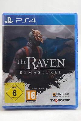 The Raven Remastered (Sony PlayStation 4) PS4 Spiel, TOP, NEU & OVP!