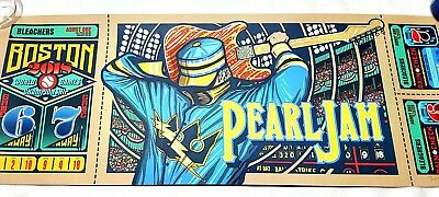Pearl Jam 2018 Boston 'Away Show' Brad Klausen. *Sold Out* Signed/Numbered