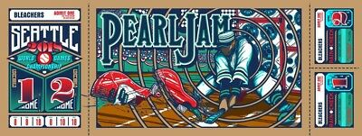 Pearl Jam 2018 Seattle Home Show Poster, Brad Klausen **Sold Out** Show Edition