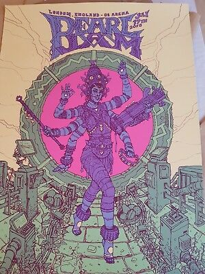 Pearl Jam 2018 London O2 17th JULY Poster **RARE** Sold Out! Show Edition