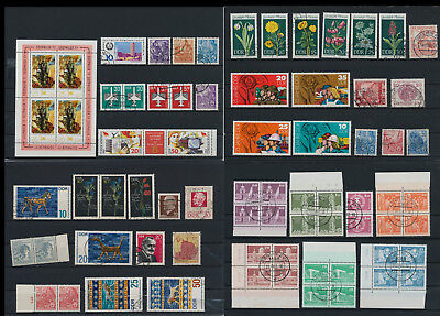 Stamps of Old Germany, DDR, Alliierte Besatzung, used,  great Lot (QT 1)