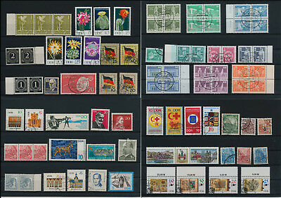 Stamps of Old Germany, DDR, Alliierte Besatzung, used,  great Lot (QT 3)