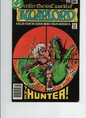 The Warlord #-13- bronze age( 1978 DC ) Mike Grell--FN/VF