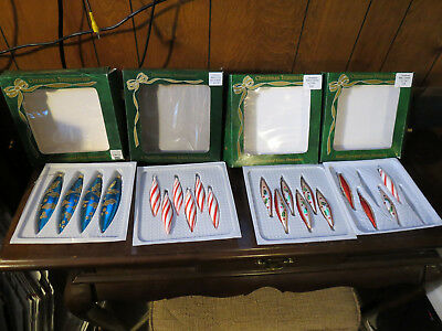 20 Vintage Bradford Exchange collectible Ornaments in boxes