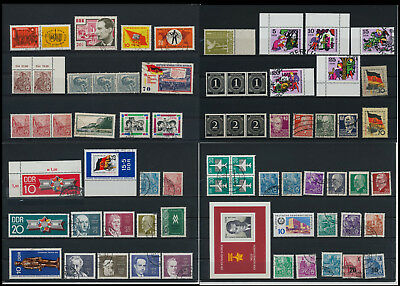 Stamps of Old Germany, DDR, Alliierte Besatzung, used,  great Lot (QT 7)