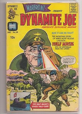 Warfront Comics #38 Dynamite Joe America's Explosive Marine 1963 Harvey Comics