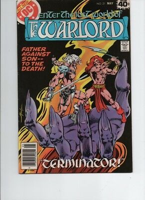The Warlord #-21- bronze age( 1979 DC )- Mike Grell--FN/VF