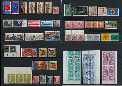 Stamps of Old Germany, DDR, Alliierte Besatzung, used,  great Lot (QT 11)