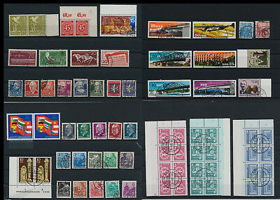 Stamps of Old Germany, DDR, Alliierte Besatzung, used,  great Lot (QT 19)