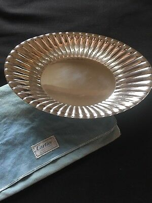 Sterling Silver Cartier Candy/Dish Bowl with Scalloped Detailing Lovely !!