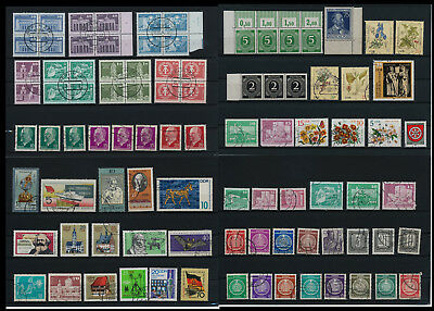 Stamps of Old Germany, DDR, Alliierte Besatzung, used,  great Lot (DDR 9)