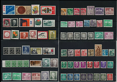 Stamps of Old Germany, DDR, Alliierte Besatzung, used,  great Lot (DDR 33)