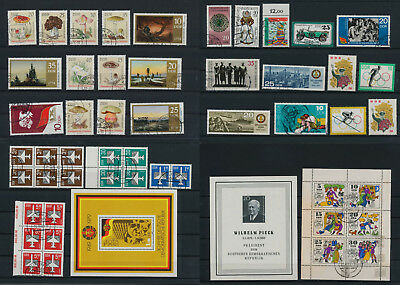 Stamps of Old Germany, DDR, Alliierte Besatzung, used,  great Lot (VQ 67)