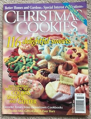 Christmas Cookies Better Homes & Gardens BHG Special Interest 2001 -Cottage Pat.