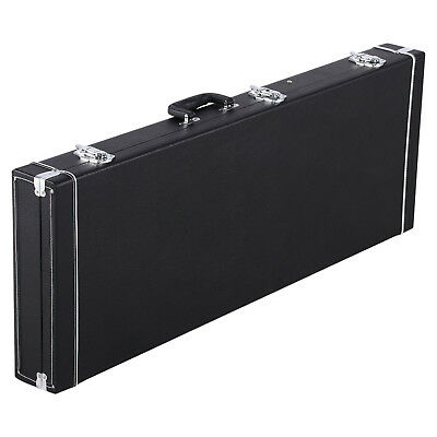 Universal Square Electric Guitar Case Hard Shell Wooden Guitar Case Lockable