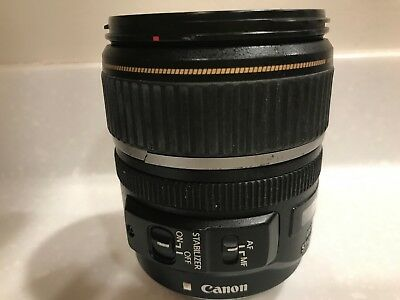 Canon EF-S 17-85 mm f/4-5.6 IS USM lens