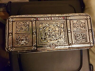 Chivas Regal Whisky  Empty GIFT BOX - ADVERTISING COLLECTABLE