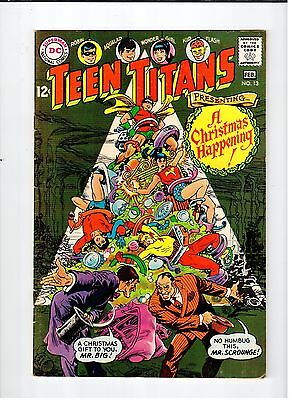 DC Comics TEEN TITANS #13 Feb 1968 vintage comic VG condition