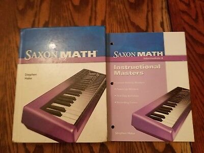Saxon Math, Intermediate 4 (Student Edition) W/ teacher masters