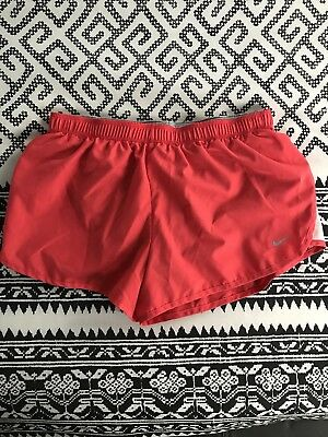 Womans Red Nike Dri-Fit Running Shorts. Size Medium. In Great Condition!!!