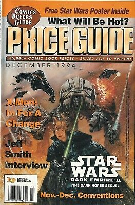 Comic Buyer's Price Guide, December, 1994 with Star Wars Cover/Article