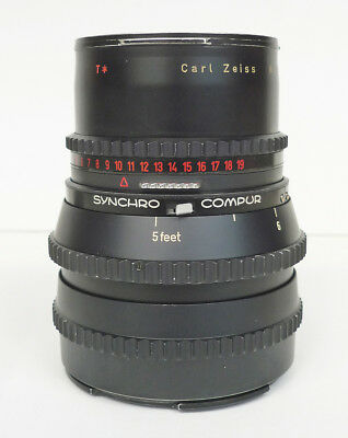 Hasselblad Carl Zeiss SONNAR 150mm f/4 C lens BLACK for V series 500C/M *read*