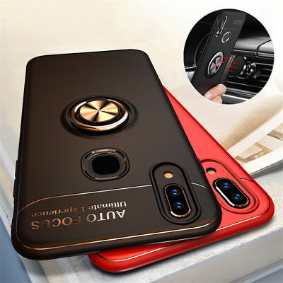 For Huawei Honor 8X Max 8X Luxury Armor Hybrid Magnetic Stand Holder Case Cover