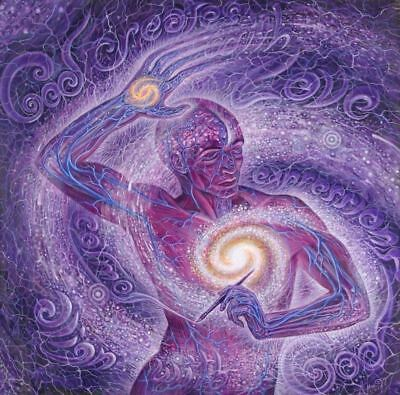 Alex Grey Signed COSM Certificate Authentic Print Visionary Cosmic Artist Limit