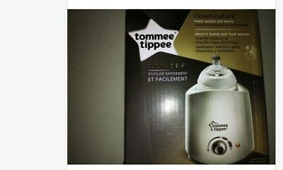 Tommee Tippee Closer to Nature Electric Baby Bottle and Food Warmer White