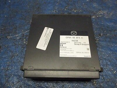 2006 2007 Mazdaspeed6 Navigation DVD Player Speed6 MS6