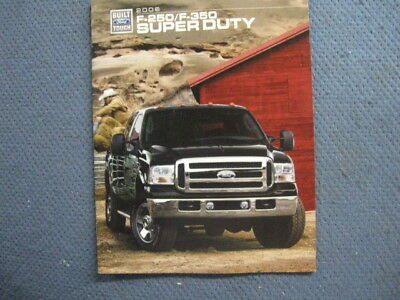 2006 Ford F-250 F-350 Super Duty sales Brochure King Ranch Amarillo Lariat