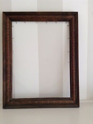 Antique Large Solid Carved Timber Photo/picture Frame.
