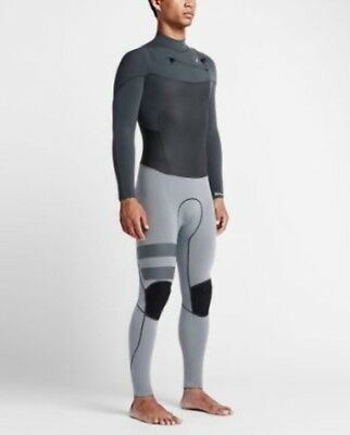 9261fd2216 Men Hurley Phantom Limited 202 Fullsuit wetsuit Grey diving surfing New  size LS