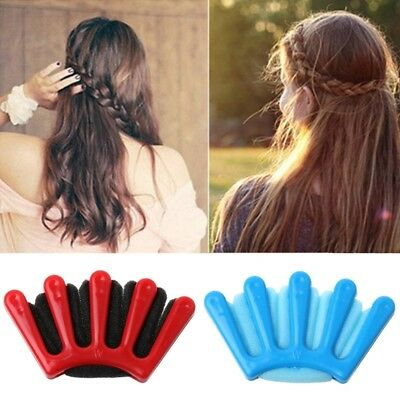 1Pc Girls Women DIY Sponge Hair Braider Plait Twist Braiding Tool Hairstyle Soft