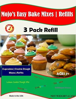 Ultimate Easy Bake Oven Refill Packs Mixes | 3 PACK DEAL