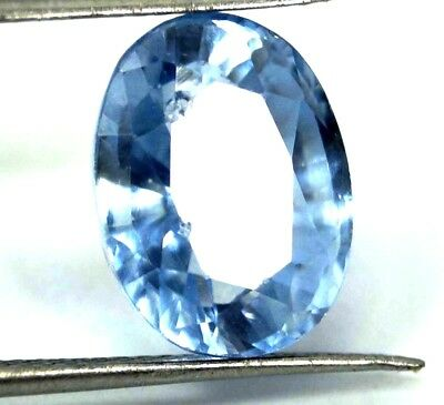 GGL Certified 4.45 Ct Oval Natural Brazilian Exceptional Aquamarine Gemstone