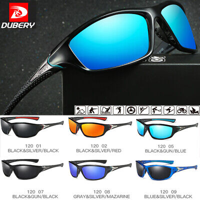 DUBERY Mens Polarized Sunglasses Sport Outdoor Cycling Fishing Glasses UV400