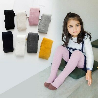 Pantyhose Tights Stockings Warm Cotton Solid Socks for Baby Girl Toddler Kids