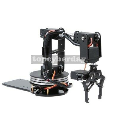 6DOF Mechnical Robotic Arm Disk Type + MG996R Servo + Servo Wheel, Unassembled