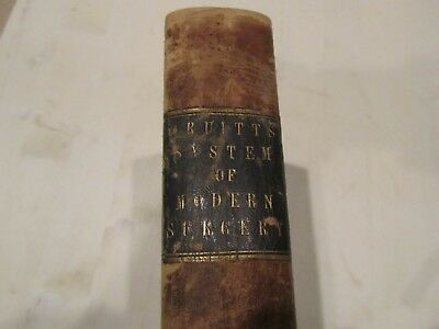 Druitt's Modern Surgery Book Druitt c1866 Original Rare 432 Illustrations