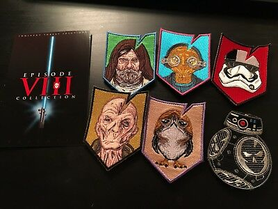 ITS Tactical ITS Episode Vlll Collection  Morale Patch Set LOT Star Wars