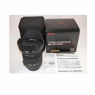 Sigma 17-50mm EX DC OS HSM for Nikon DSLRs From EU Nuevo